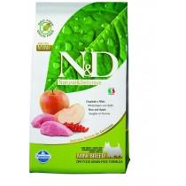 Farmina N&D dog GF adult mini boar&apple 7 kg