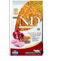 Farmina N&D cat LG adult Chicken, spelt, oats&pomegranate 5 kg