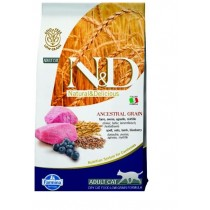 Farmina N&D cat LG adult Lamb, spelt, oats & blueberry 5 kg