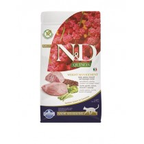 Farmina N&D cat GF QUINOA Weight Managment Lamb 1,5 kg