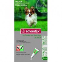 Advantix Spot on 1x0,4 ml do 4 kg