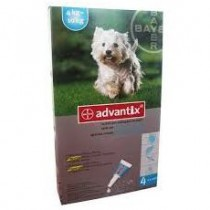 Advantix Spot on 4x1 ml 4-10 kg