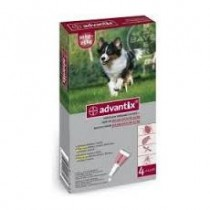 Advantix Spot on 4x2,5 ml 10-25 kg