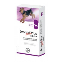 Drontal Plus 24 ks (tablety pre psy 24ks)