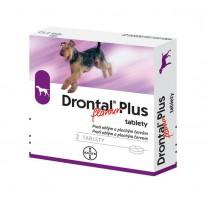 Drontal Plus Flavour 10 kg (tablety pre psy 2 ks)