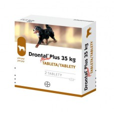 Drontal Dog Flavour Psy 35kg (tablety pre psy 2 ks)