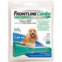 Frontline Combo spot-on Dog M 1x1,34ml 10-20 kg