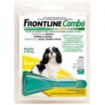 Frontline Combo spot-on Dog S 1x0,67ml 2-10 kg